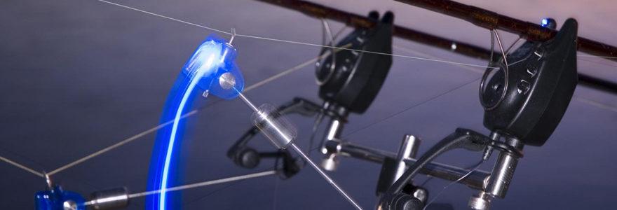 Utiliser du matériel électronique pêche à la carpe